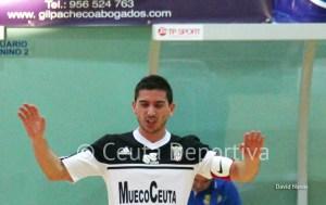 Salvi ha marcado tres de los siete goles del Ceutí FS, dos de muy bella factura