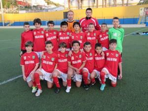 La selección alevín de fútbol 8 prepara el Nacional de Logroño en el mes de mayo