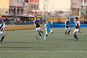 Ceuta consiguió un punto en la 1ª fase disputada en Melilla al empatar la sub'18 con el combinado melillense