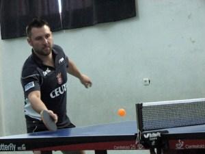 Darius Kich es uno de los integrantes del Gabitec Ceuta TM