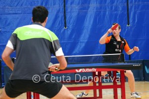 Carlos Martín ha conquistado los dos puntos para la escuadra caballa