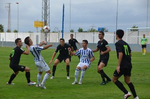 El filial del Recre, próximo rival del equipo de Álvaro Pérez en Huelva, perdió ante el Cádiz B en esta jornada