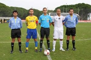 Juan Peña Varela pitó el empate a un gol del Atlético de Ceuta en Cádiz