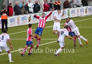El Atlético de Ceuta ha peleado con fe hasta el final a pesar de tenerlo todo en contra
