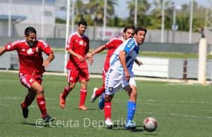 El Atlético de Ceuta goleó al Recreativo B en su último desplazamiento