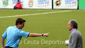 Álvaro Pérez, amonestado verbalmente por el árbitro