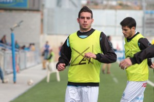 Borja llegó en el mercado de invierno al Imperial y el domingo debutó en Segunda contra el Barça B