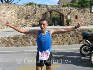 Alilech Adil ganó la XIX Vuelta a Ceuta con un gran tiempo