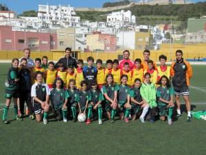 Las selecciones de Ceuta alevín masculina y femenina, esta tarde en el José Benoliel