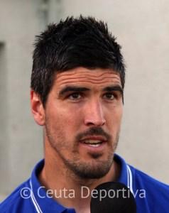 Ale Hornillo asegura que la afición caballa supo reconocer el esfuerzo de los jugadores de la AD Ceuta