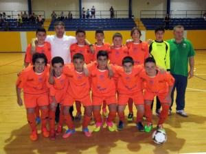 El CD Natación recogerá el trofeo que le acredita como campeón de la competición infantil de fútbol sala