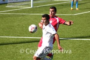 Ernesto, que reaparecía tras cumplir sanción, ha abierto la cuenta goleadora del Atlético de Ceuta