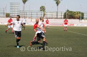 El Racing Club Portuense tiró de orgullo para vencer al Atlético de Ceuta por 2-1 en el José del Cuvillo