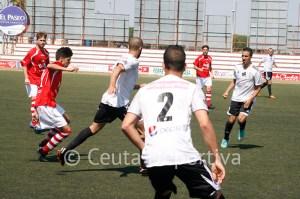 El Atlético de Ceuta creó pocas ocasiones de gol en El Puerto