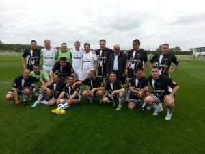 Veteranos de Ceuta se enfrentó a los veteranos del Tottenham en Londres