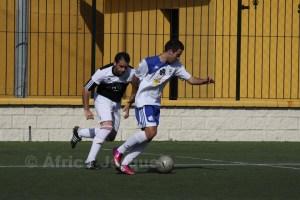 El Murallas de Ceuta no pudo frenar al líder Atlético de Ceuta B