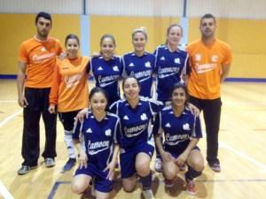 El Luis de Camoens es uno de los finalistas de la Liga femenina de fútbol sala