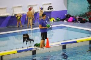 Paco Molina también arbitró encuentros en los Juegos del Estrecho celebrados en Ceuta