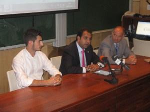 El consejero de Deportes, Premi Mirchandani, inauguró las I Jornadas de Derecho Deportivo