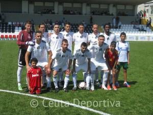 El Atlético de Ceuta B remontó el gol de Juampi y disputará la final