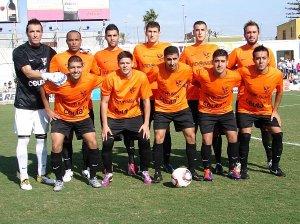 Goyo militó en el Murallas en la temporada 11-12 hasta que se marchó a la UD Los Barrios