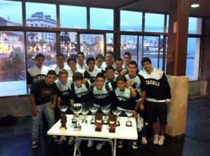 El equipo cadete del CN Caballa buscará una plaza para el Absoluto junto a otros nueve equipos