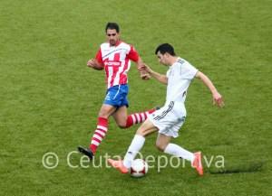 Ismael Abdelá ha destacado en el Atlético de Ceuta y el Recre se ha fijado en él