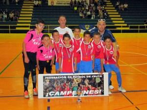El Puerto Atlético alevín ha ganado su tercer título de la temporada