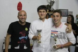 Sergio Mena, a la izquierda, ha conseguido recuperar el Campeonato de Ceuta de voley-playa en su primer año de mandato