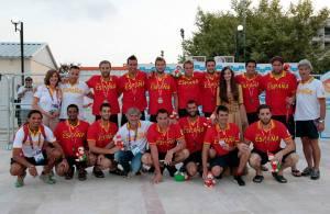 La selección masculina, plata en los Juegos del Mediterráneo de Mersin, no consigue un metal en un gran evento desde el 2009 en Roma
