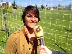 Olga Chaves, vocal de la CNFF y responsable del fútbol femenino de la FFC, acudió a la reunión en Las Rozas