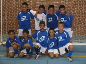 El Club Deportivo Ceuta benjamín