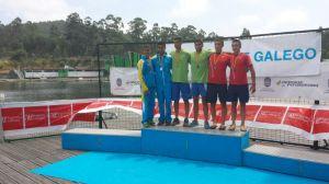 Samir Daoud y Yamal Amar, medalla de plata en k-2 200 metros categoría junior