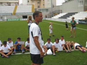 Juanma Alamillos afronta su primera experiencia en Liga Nacional Juvenil