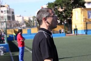 Juanma Alamillos es el seleccionador de Ceuta de categoría juvenil