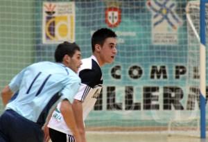 Rubén completó una buena temporada el curso pasado