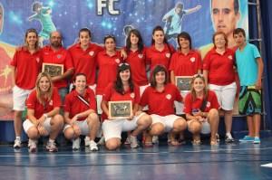 El equipo ceutí realizó una gran temporada y se proclamó campeón de la Provincial Malagueña