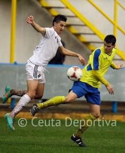 Said, que no pudo jugar ante el Alcalá, estuvo la temporada pasada seis meses entrenando hasta que debutó en Coria