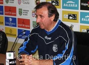Asián es consciente de que la AD Ceuta FC aspira a estar en la parte alta de la clasificación