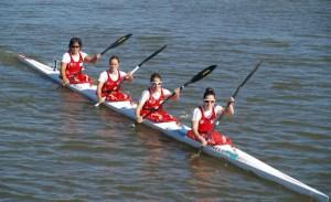 La palista ceutí es una de las integrantes del k-4 femenino que compite este viernes