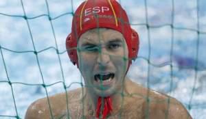 El portero Iñaki Aguilar se erigió de nuevo en el jugador más destacado del equipo español
