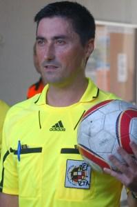 Arias Madrid se queda sin pitar el Balona - Arroyo por culpa de una lesión
