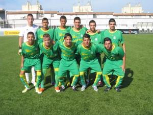 Fuad Harrus presentó este equipo en el amistoso ante el Chabab Fnideq