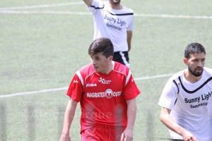 Cristian, que la temporada pasada jugó en el Ramón y Cajal en Regional, marcó el gol ceutí