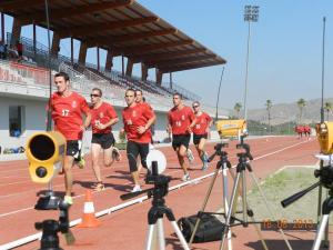 Los árbitros andaluces y de Ceuta de Tercera División pasaron las pruebas físicas en Cártama