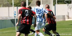 El filial del Recre empató ante el Cabecense en la primera jornada de Liga