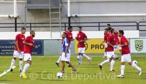 Los jugadores de la AD Ceuta FC han podido ser inscritos por fin este viernes