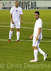 Borja Gil fue titular en el partido del miércoles ante la Balompédica Linense