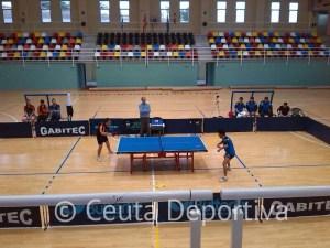 El tenis de mesa es un deporte que no ha calado en la afición ceutí y el Gabitec ha contado con muy poco apoyo en las gradas