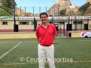 Antonio García Gaona afronta una nueva temporada al frente de la Federación de Fútbol de Ceuta